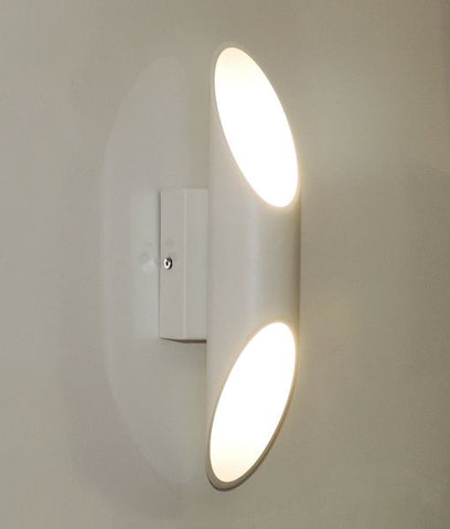 CLA Lighting Milan LED Wall Light White 6W in 30cm