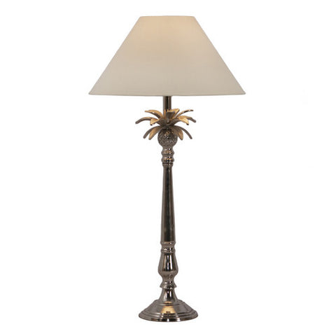 One world Pineapple Leaf Table Lamp Base Bronze or Nickel in 58cm