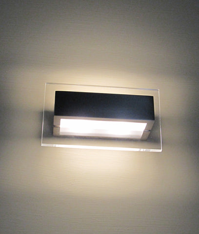 CLA Lighting New York LED Wall Light Satin Nickel 6W in 17cm