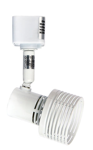 Oriel Zip Track Spot Light GU10 in Chrome or White 5cm