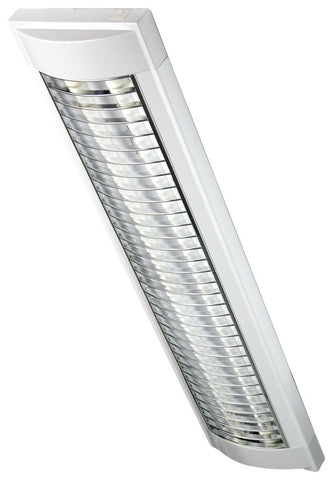 Oriel Cupola Fluorescent Light Twin T5 14W 21W or 28W
