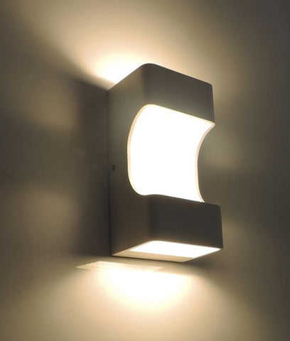 CLA Lighting Oslo LED Wall Light White 12W in 20cm