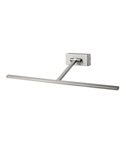 CLA Lighting LED Paris Wall Light Satin Nickel 4.5W in 45cm