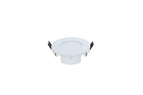 CLA Lighting Runt LED Downlight Fixed Round White in 3W 9cm