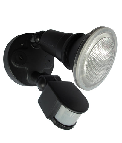 CLA Lighting Sec LED Security Wall Light w Sensor Black 10W in 11cm