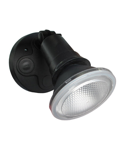 CLA Lighting Sec LED Security Wall Light Black 10W in 11cm