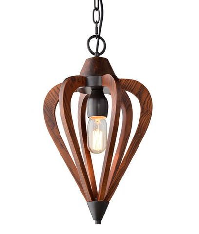 CLA Lighting Senorita Pendant Light Arrow in Coffee or Natural E27 44cm