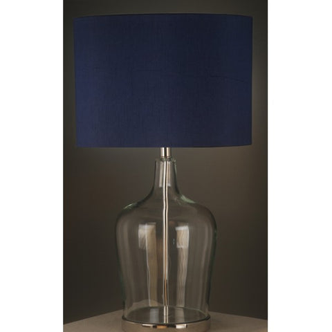 One world Lamp W/N.Blue Shade in 66cm