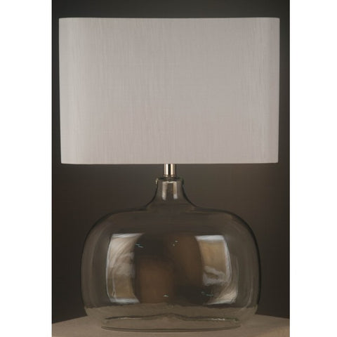 One world Dome Lamp W/White shade in 58cm