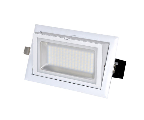 CLA Lighting LED Downlight Shop Lighter Gimbal 38W White in 25cm