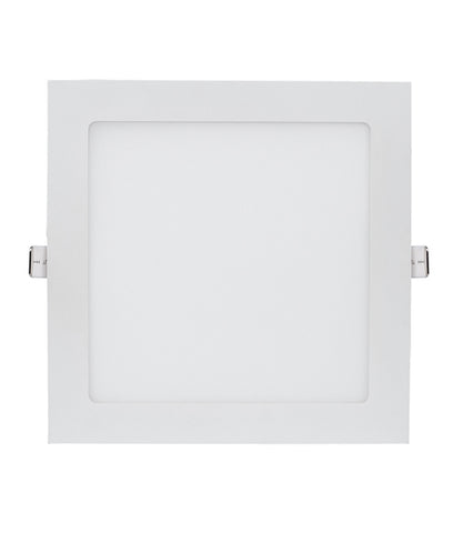 CLA Lighting Slick LED Downlight Dimmable Fixed Square White in 9W 12W or 18W