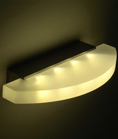 CLA Lighting LED Sydney Wall Light White 4W in 25cm