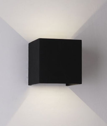 CLA Lighting Toca LED Wall Light Exterior Up Down in 10cm