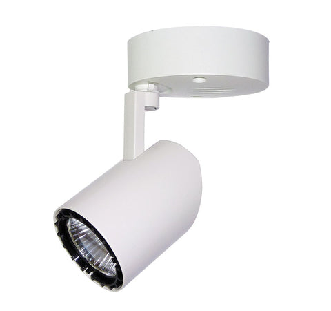 Oriel Fass LED Spot Light White Surface Mounted 7W in 10cm