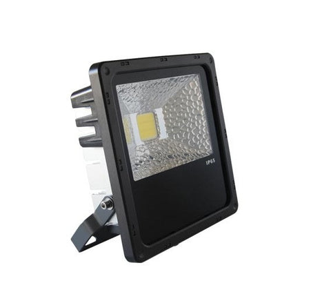 UGE LED Flood Light Outdoor 50W in Black or Silver 29cm
