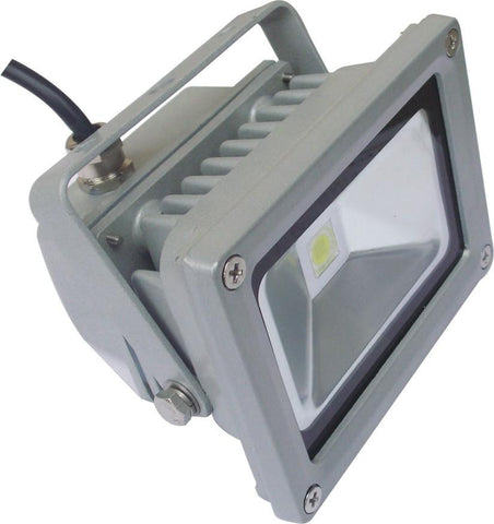 UGE LED Flood Light Waterproof Box 10W 20W or 30W in Black or Silver