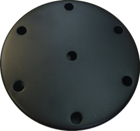 UGE Ceiling Plate w 7 Holes Surface Mounted in 15cm