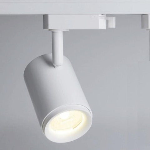 UGE LED Track Spot Light Dimmable in Black or White 12W 10cm