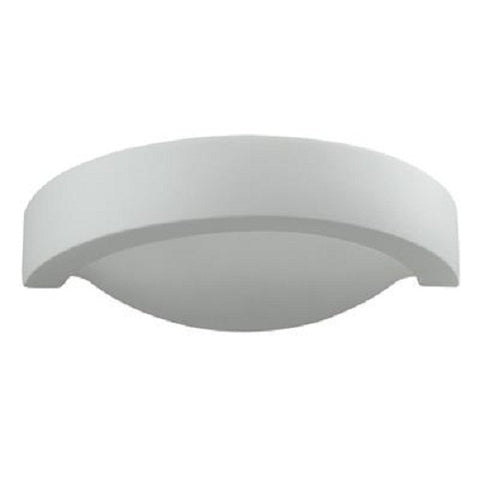 Domus Wall uplight White E27 in 32cm- BF-8286