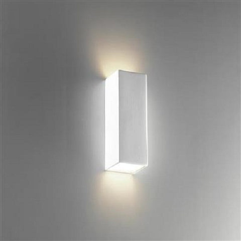 Domus Wall uplight White G9 in 17cm- BF-8418
