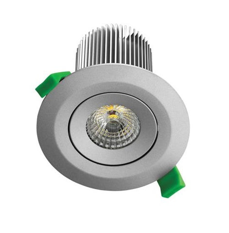 Domus DLK LED Downlight Dimmable 13W in Silver or White 11cm