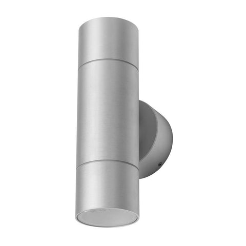 Domus Elite LED Wall Light Exterior Cylindrical Aluminium 6W in 21cm