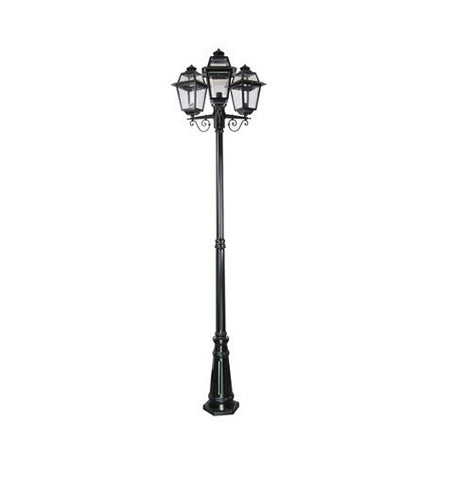 Domus Avignon Bollard Light Triple Head B22