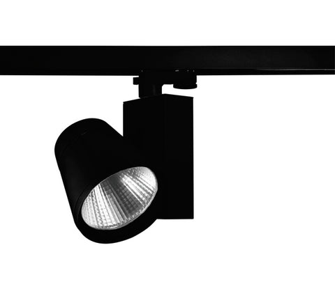 Vibe LED Track Light 18W in White or Black 18cm
