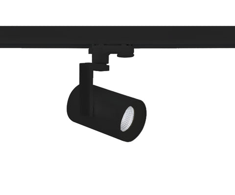 Vibe LED Track Light 13W Black in 12cm