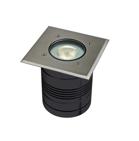 Domus Modula LED Inground Light Square Aluminium 9W in 13cm