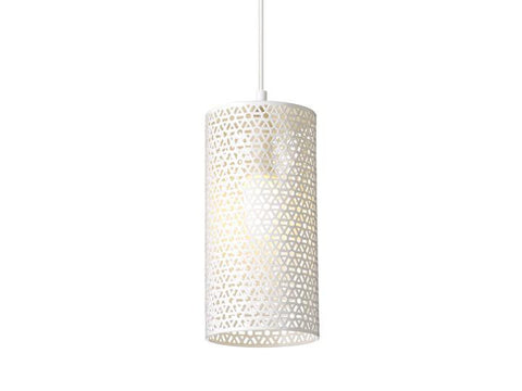 Rouge Living Muse Pendant Light White in 28cm