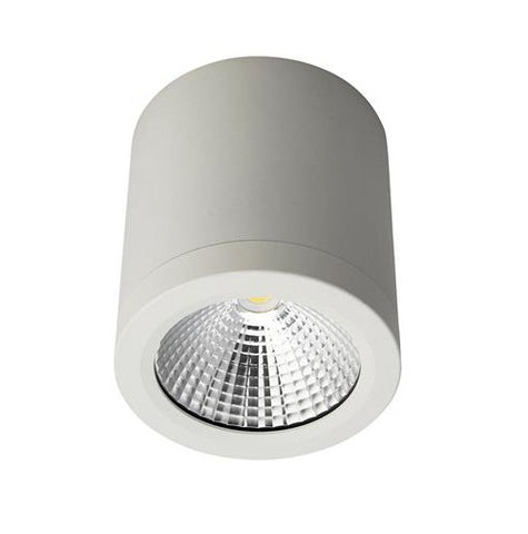Domus Neo LED Downlight Dimmable Cylindrical 13W in White or Black 10cm