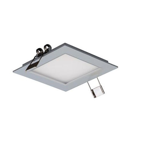 Domus LED Panel Light Square Silver 3W in 10cm