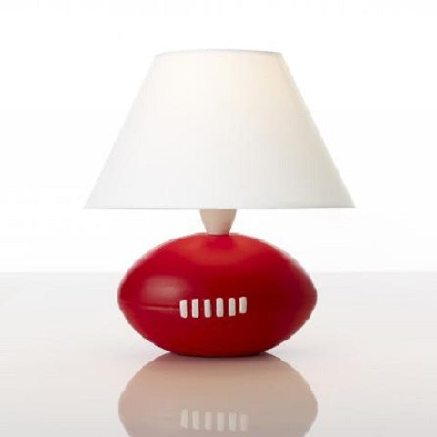 Rouge Living Football Table Lamp in White 28cm
