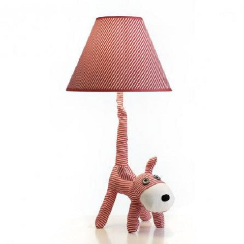 Rouge Living Fido The Dog LED Table Lamp in Red 50cm