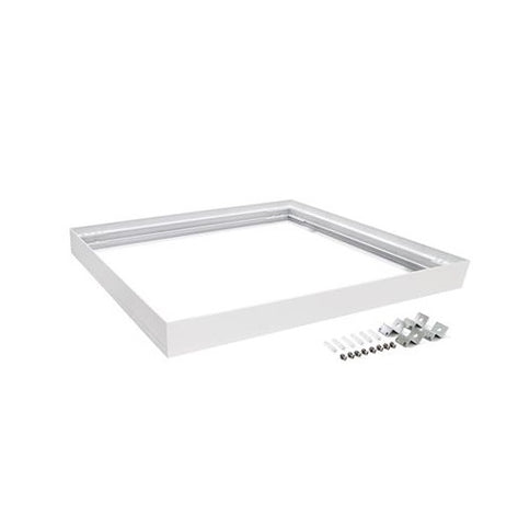 Domus Panel Frame Square in Aluminium or White 61cm