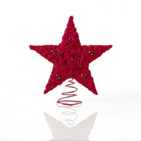 Rouge Living Twinkle Tree Topper in Red 28cm