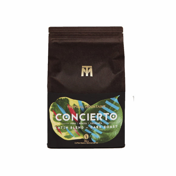 Tropical Mountains - Concierto 250g (Whole Beans)