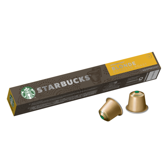 STARBUCKS® Blonde Espresso Roast by Nespresso