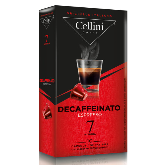 Cellini - Decaffeinato *Nespresso Compatible