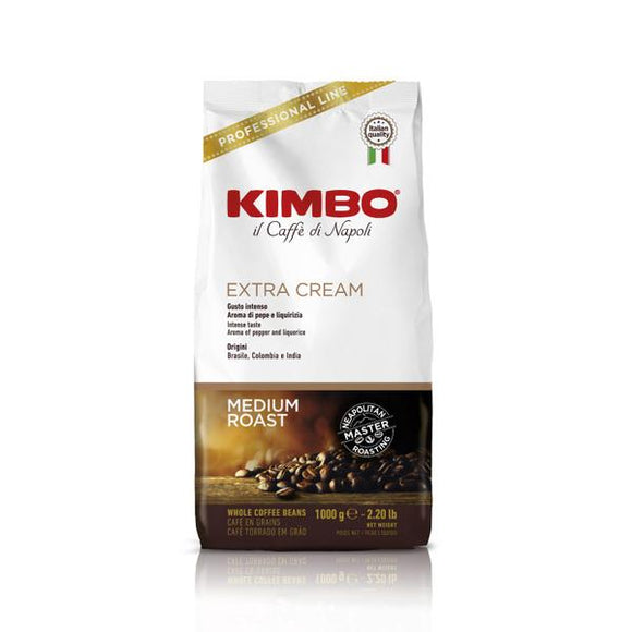 Kimbo Espresso Bar Extra Cream 1Kg (Whole Beans)