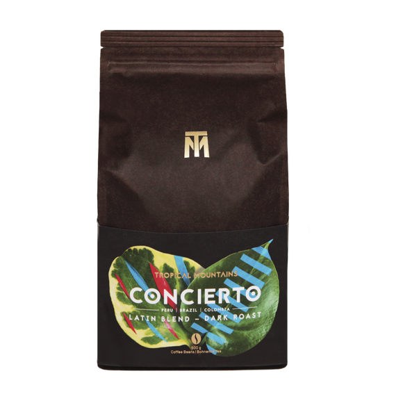 Tropical Mountains - Concierto 500g (Whole Beans)