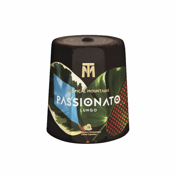 Tropical Mountains - Passionato Lungo *Nespresso Compatible Capsules 21 pcs