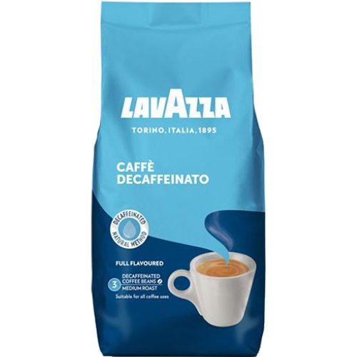 Lavazza Caffè Crema Decaffeinato 500g (Whole Beans)