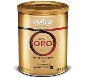 Lavazza Qualita Oro Ground Coffee 250g tin