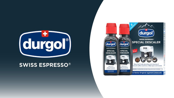 DURGOL SWISS ESPRESSO DESCALER FOR COFFEE MACHINES 2X 125ML