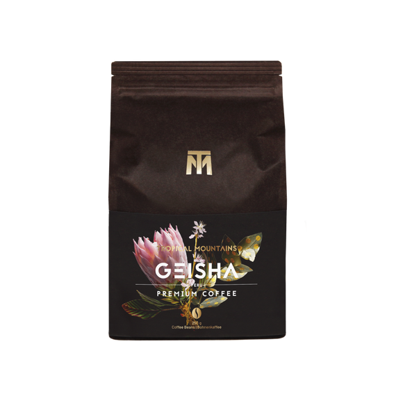 Tropical Mountains - Geisha 250g Coffee Rarity (Whole Beans)