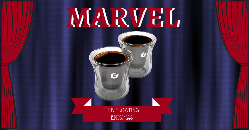 Marvel The Floating Enigmas: Espresso Coffee and Levitation Through the Ages