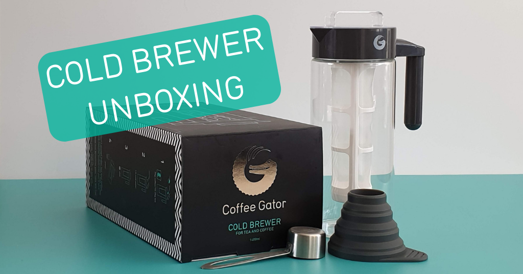 Cold brew coffee kit unboxing