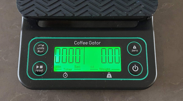1. Coffee Gator brewing scale